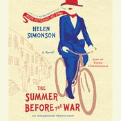 The Summer Before the War: A Novel, by Helen Simonson