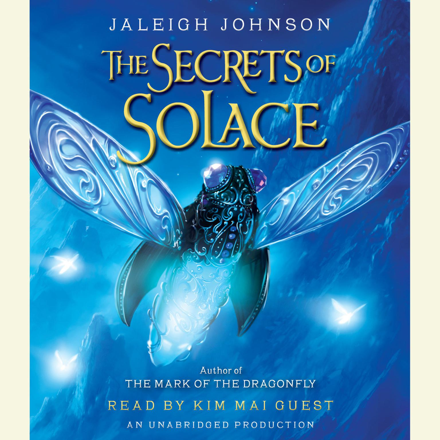 Printable The Secrets of Solace Audiobook Cover Art