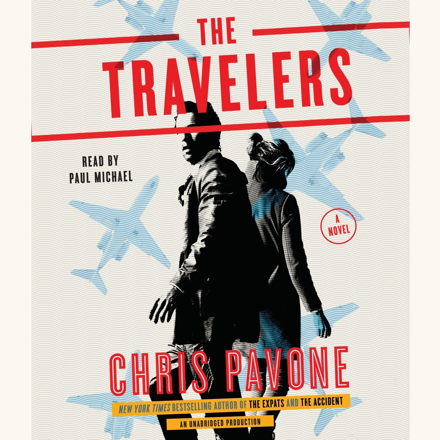 Printable The Travelers: A Novel Audiobook Cover Art