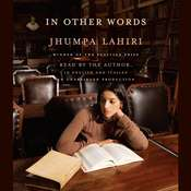 In Other Words, by Jhumpa Lahiri