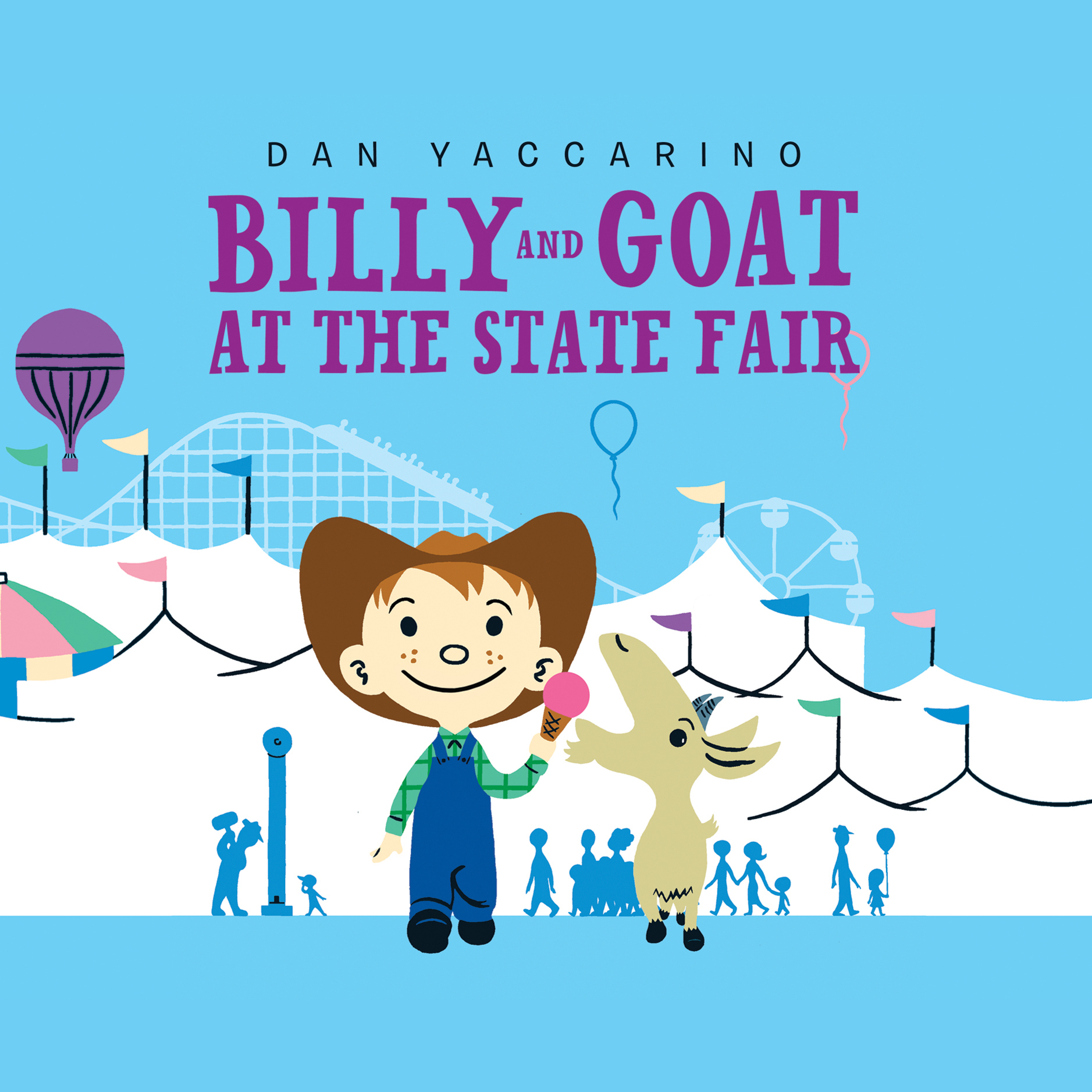 Printable Billy and Goat at the State Fair Audiobook Cover Art