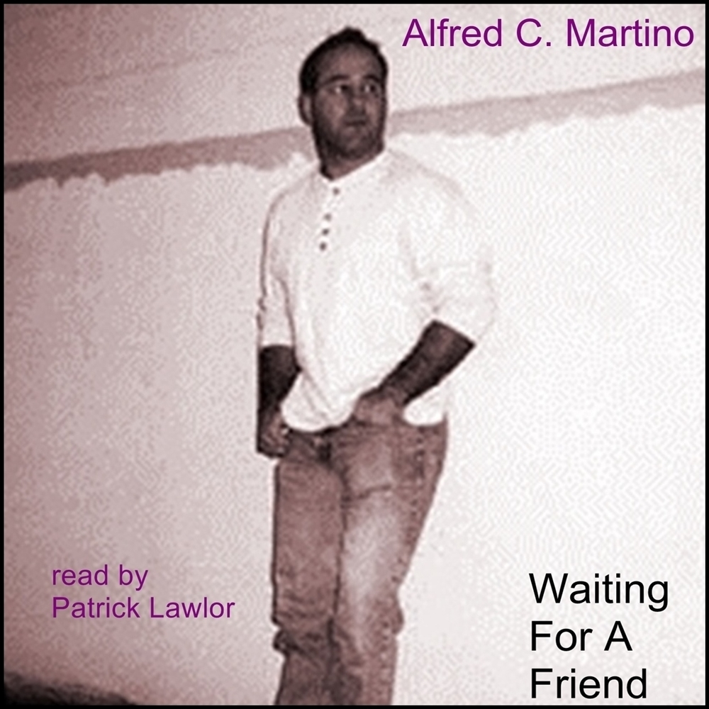 Printable Waiting for a Friend Audiobook Cover Art