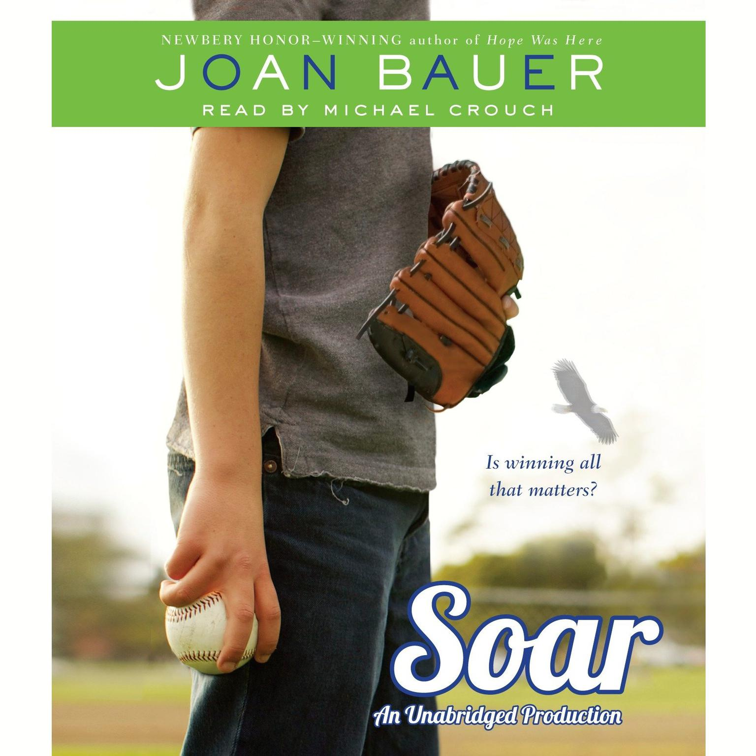 Printable Soar Audiobook Cover Art
