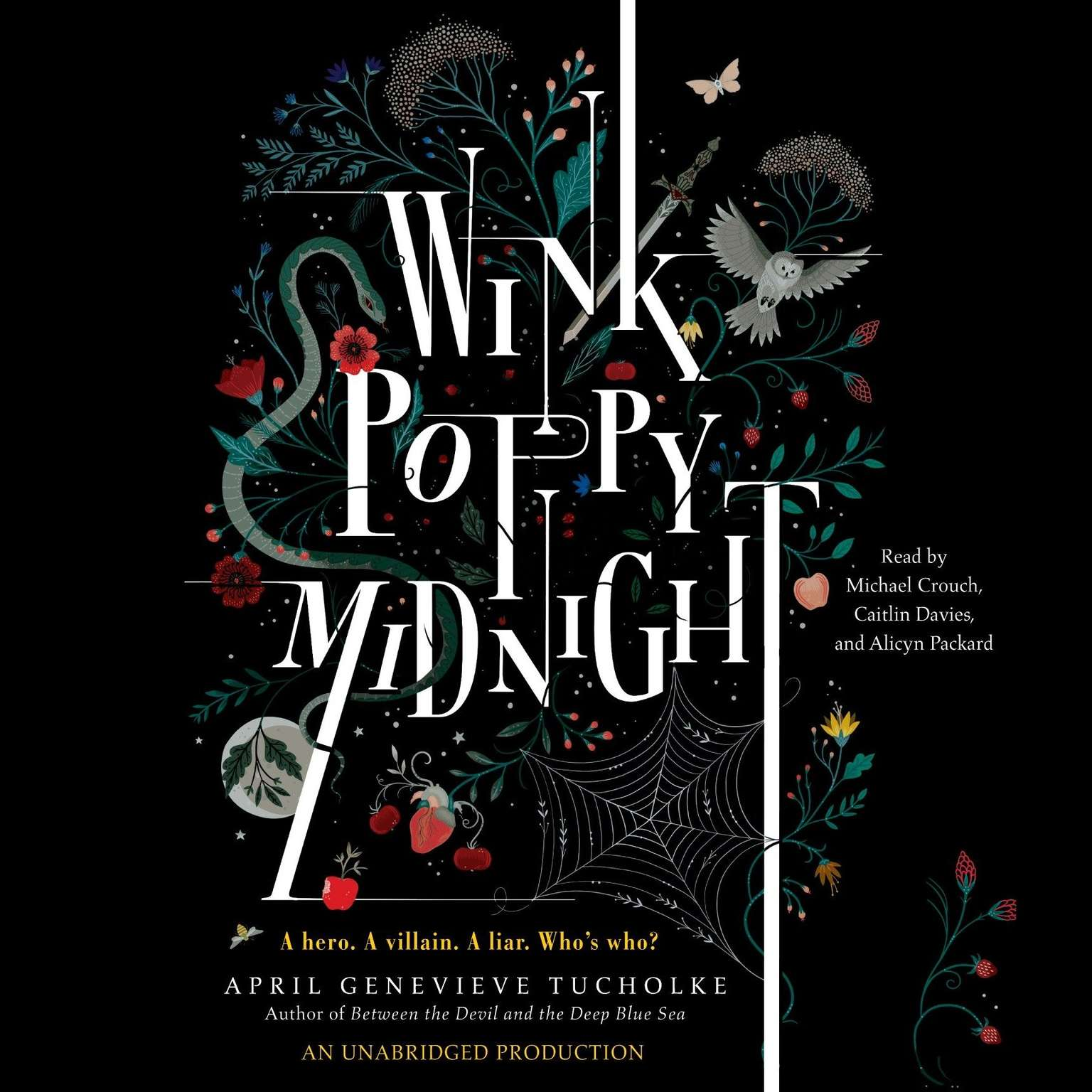 Printable Wink Poppy Midnight Audiobook Cover Art
