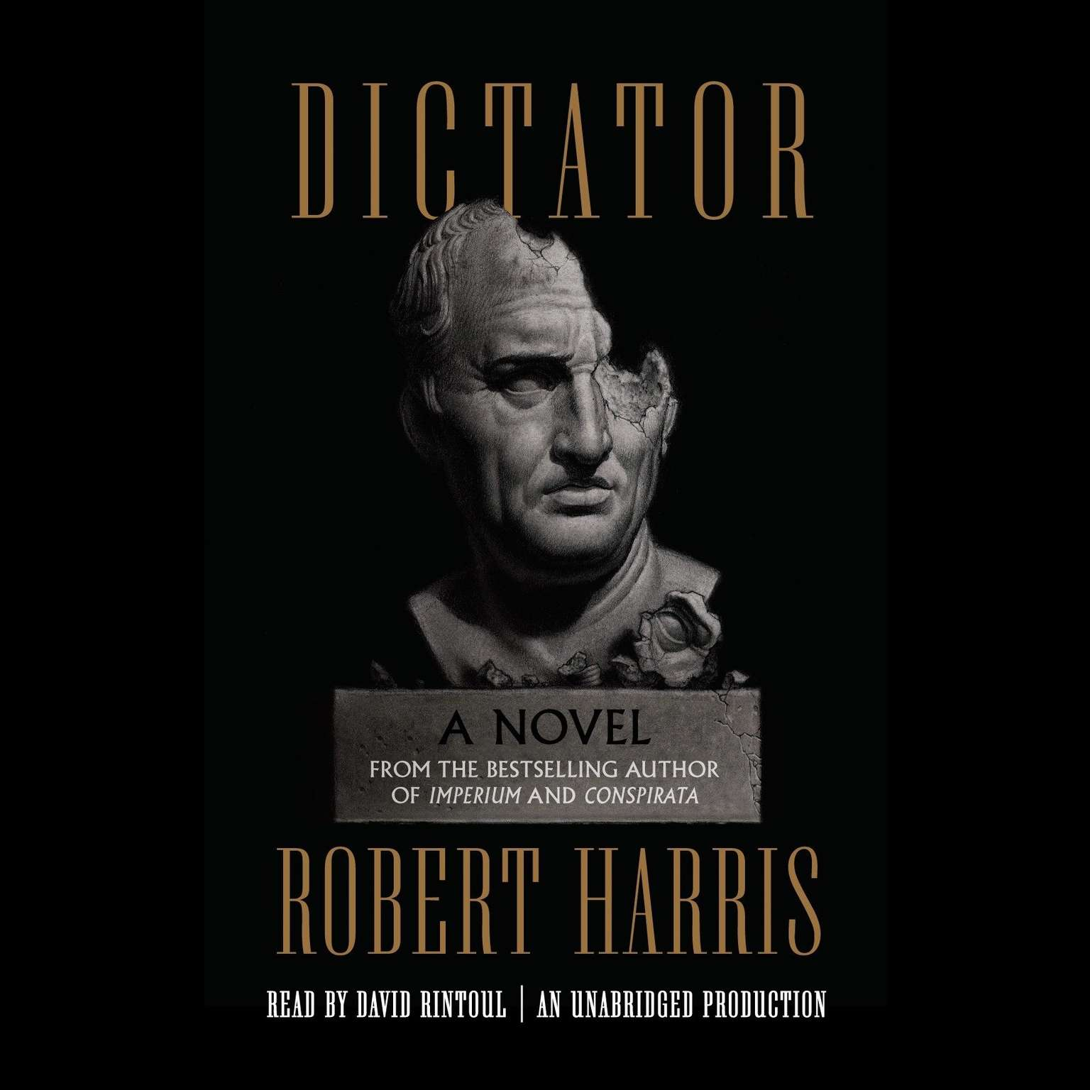 Printable Dictator: A novel Audiobook Cover Art