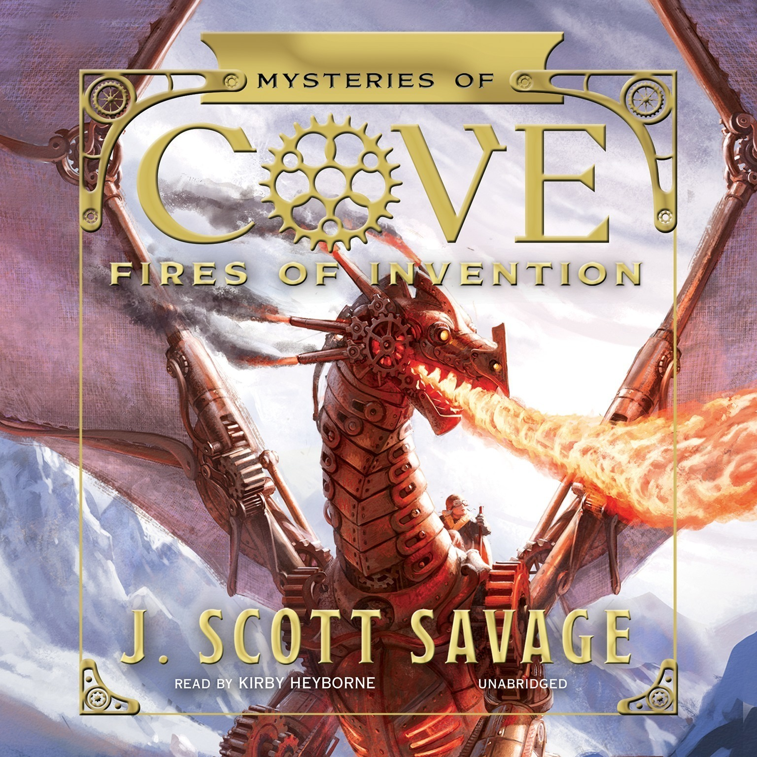Printable Fires of Invention Audiobook Cover Art