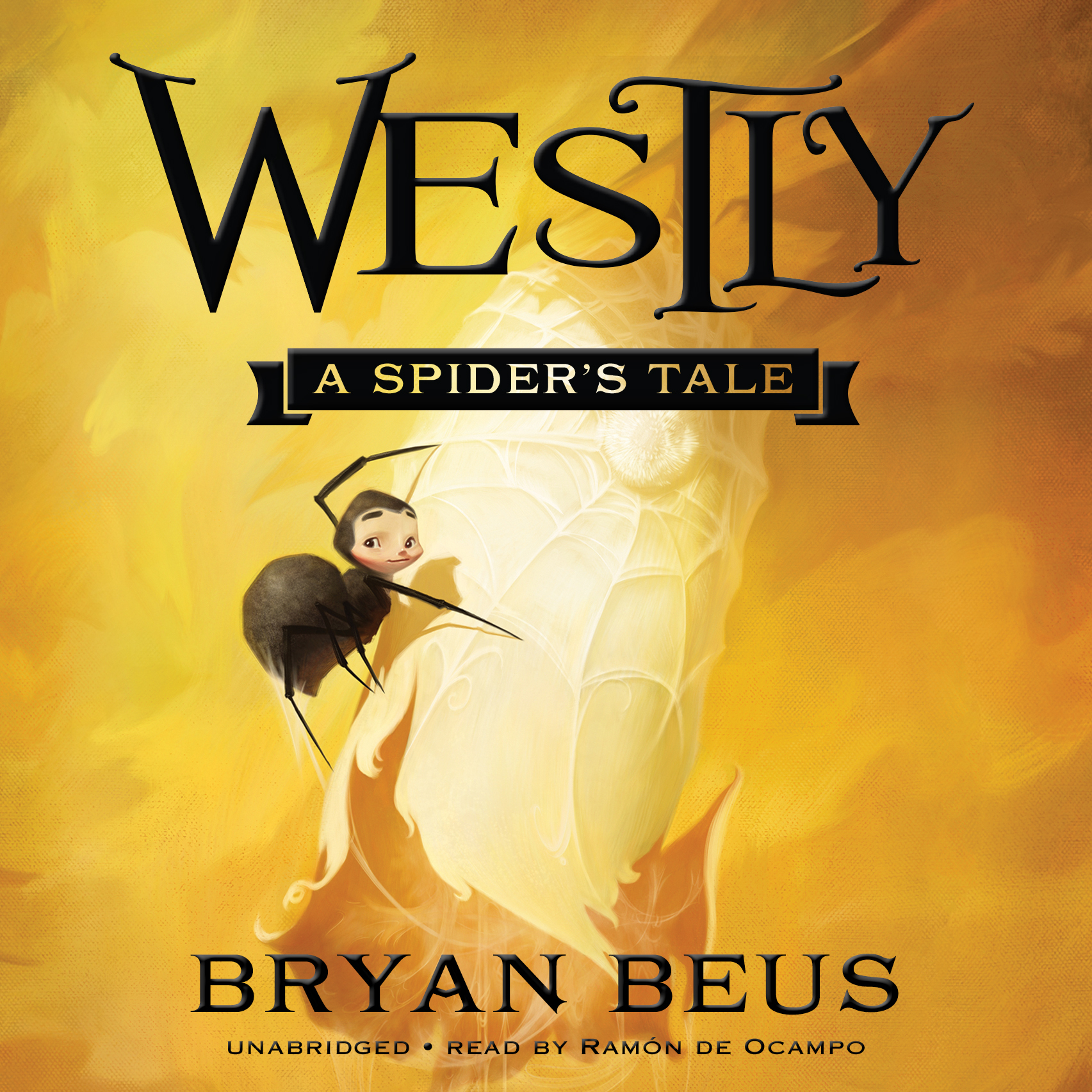 Printable Westly: A Spider's Tale         Audiobook Cover Art