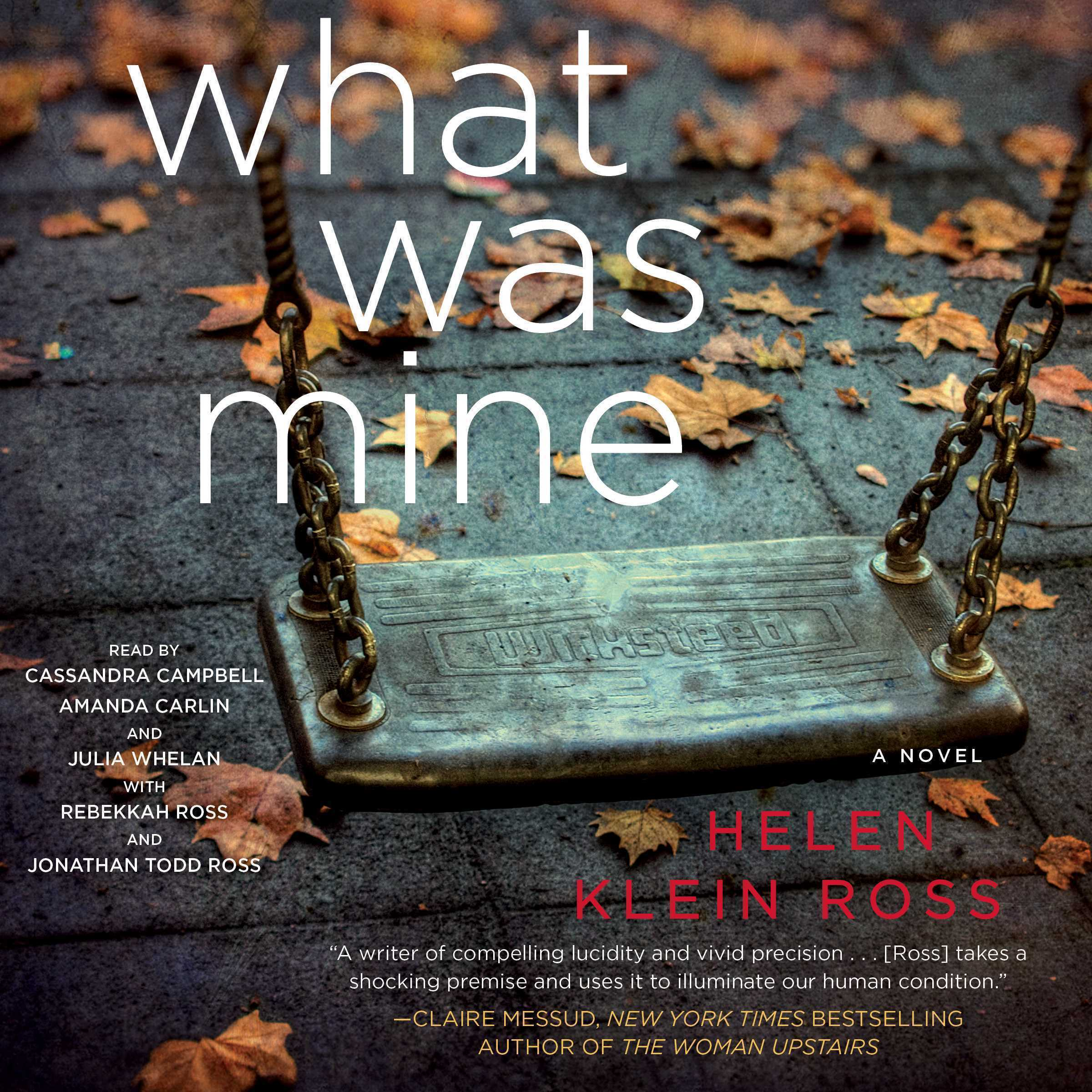 Printable What Was Mine: A Novel Audiobook Cover Art