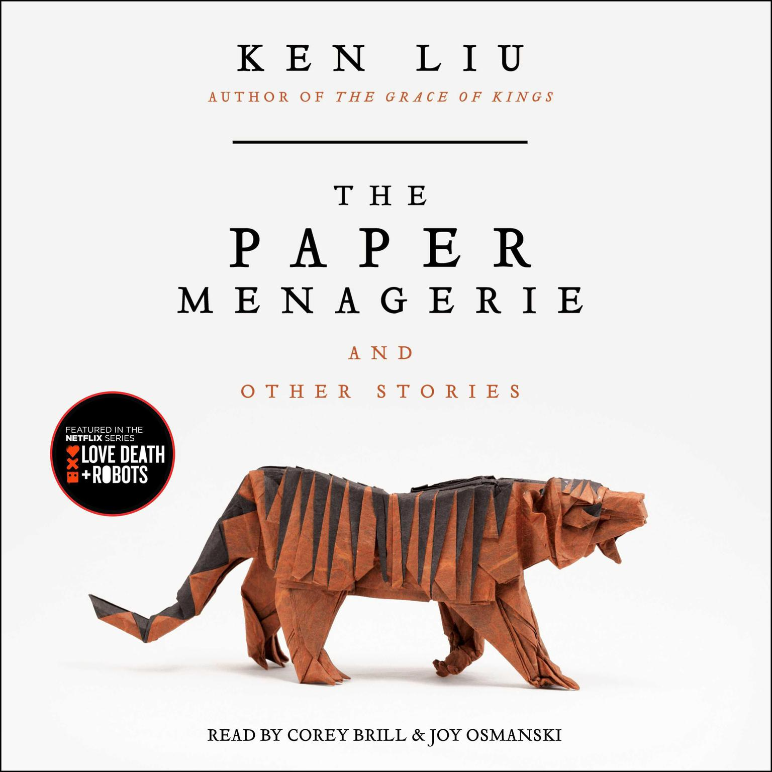 Printable The Paper Menagerie and Other Stories Audiobook Cover Art