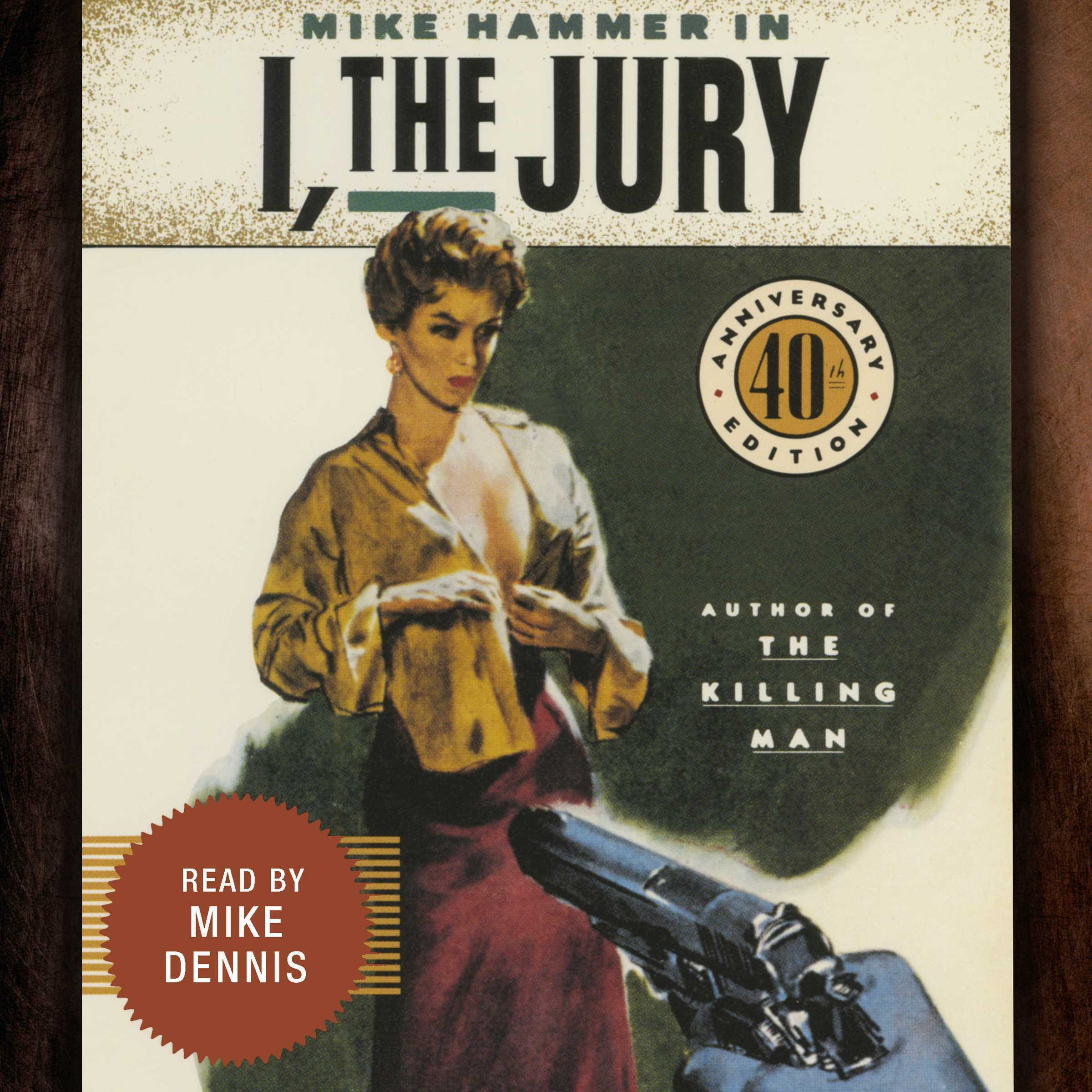 Printable I, the Jury Audiobook Cover Art
