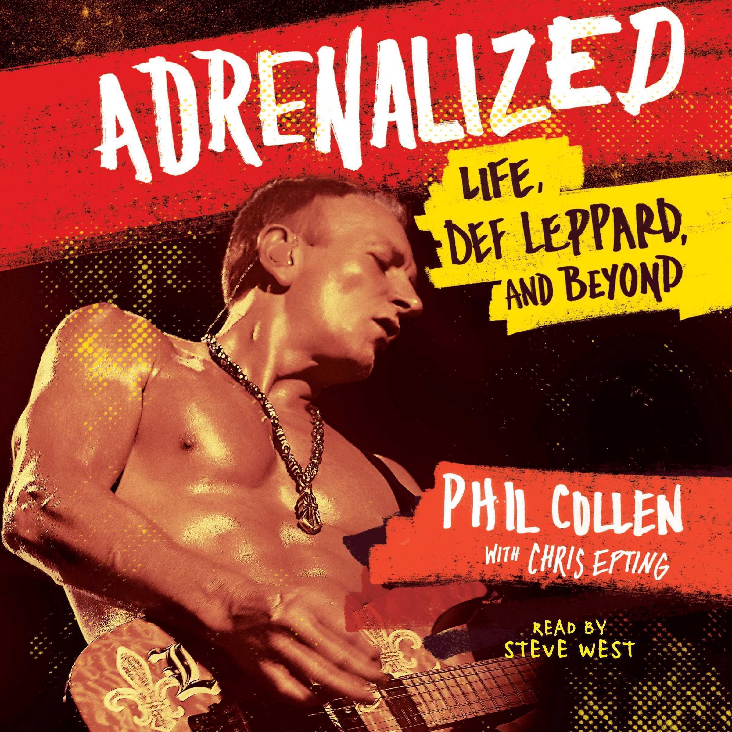 Printable Adrenalized: Life, Def Leppard, and Beyond Audiobook Cover Art
