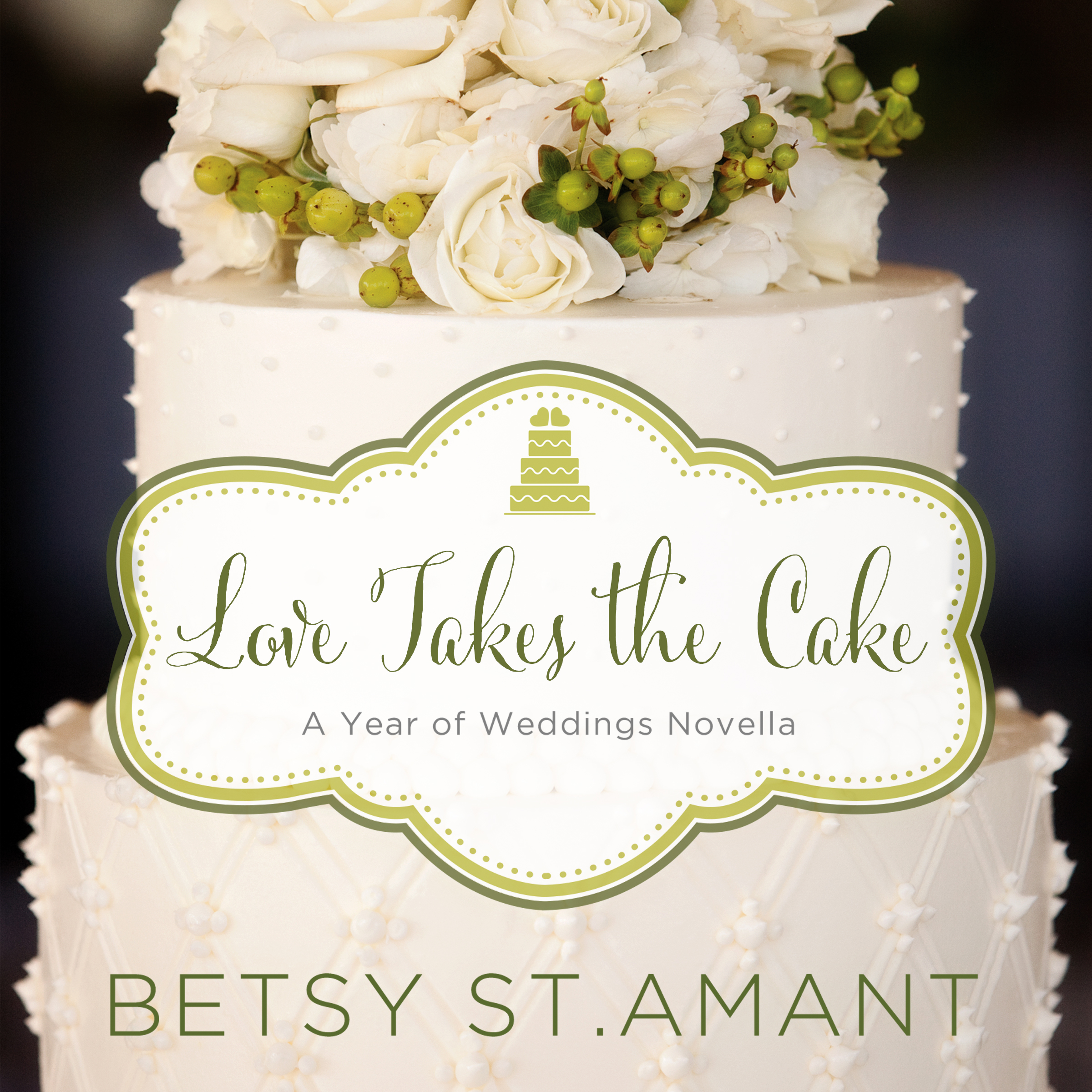 Printable Love Takes the Cake: A September Wedding Story Audiobook Cover Art