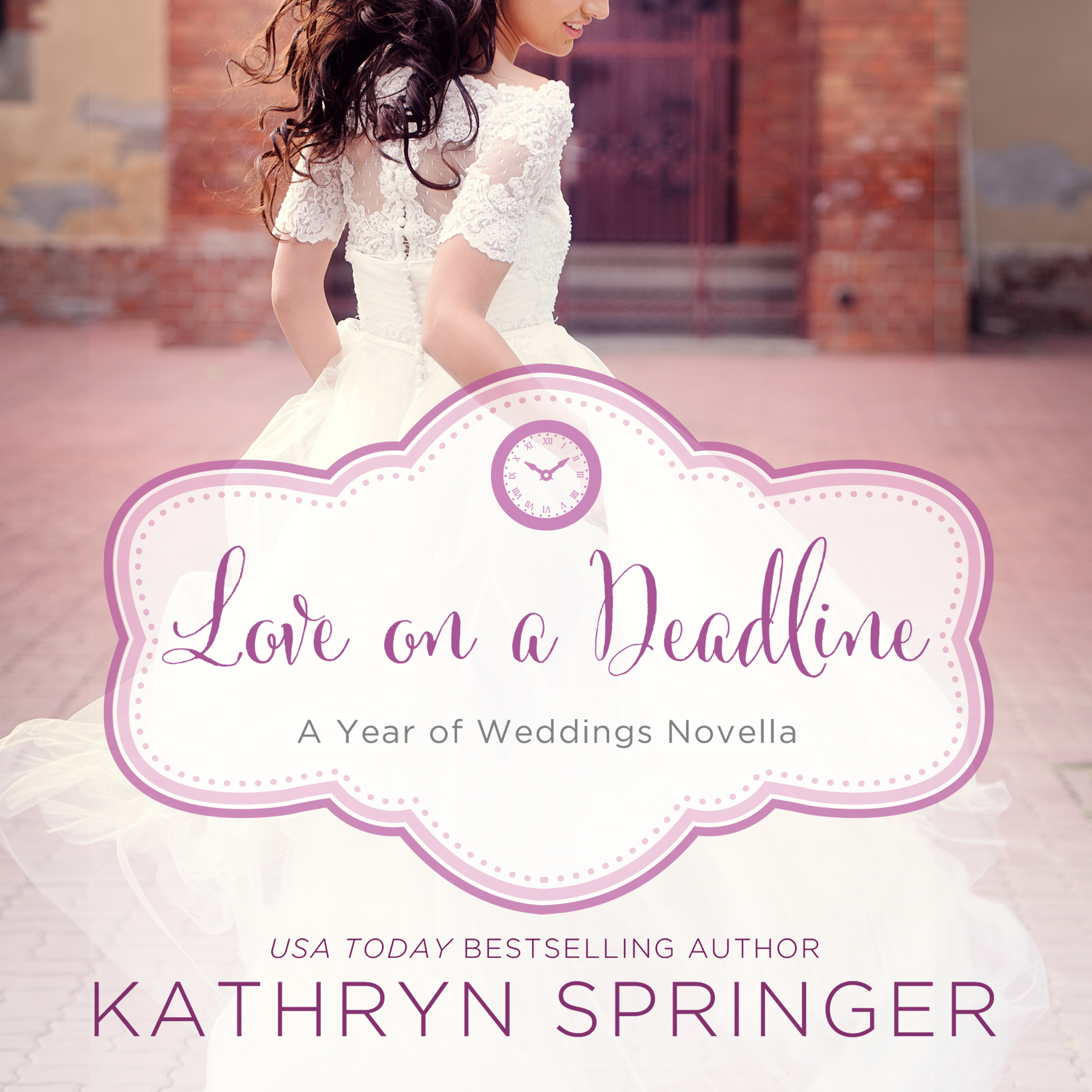 Printable Love on a Deadline: An August Wedding Story Audiobook Cover Art