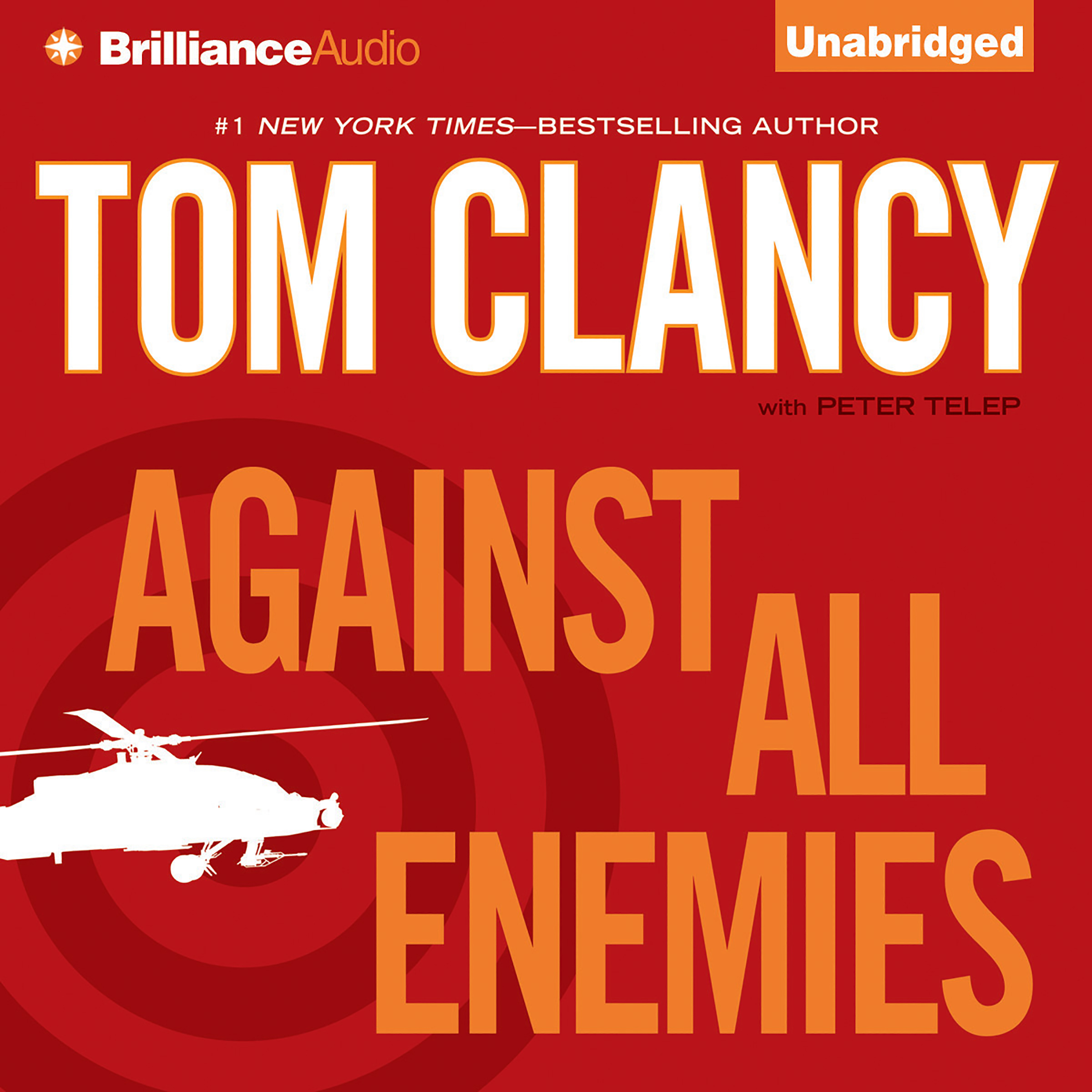 Printable Against All Enemies Audiobook Cover Art