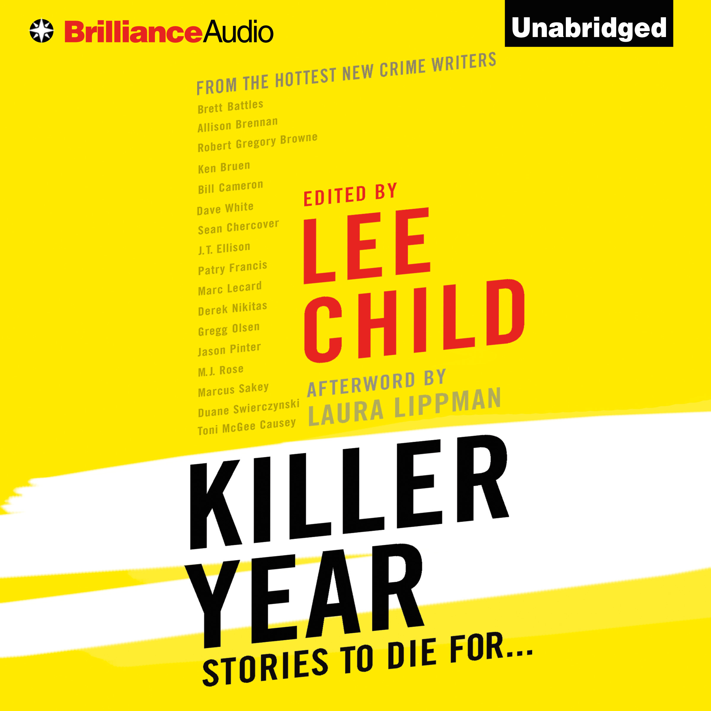Printable Killer Year: Stories to Die For... Audiobook Cover Art