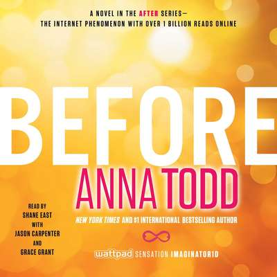 Before Audiobook, by Anna Todd