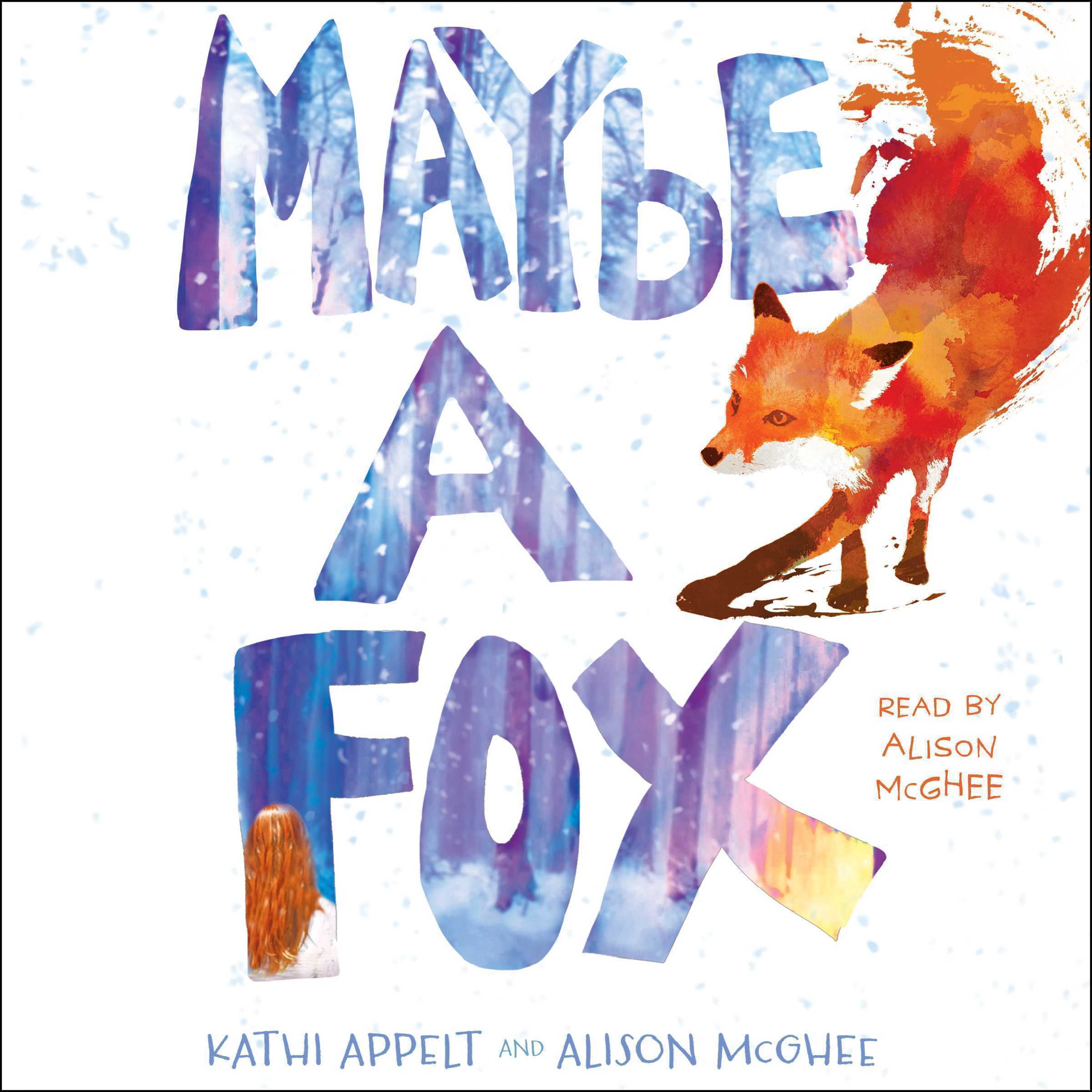 Printable Maybe a Fox Audiobook Cover Art