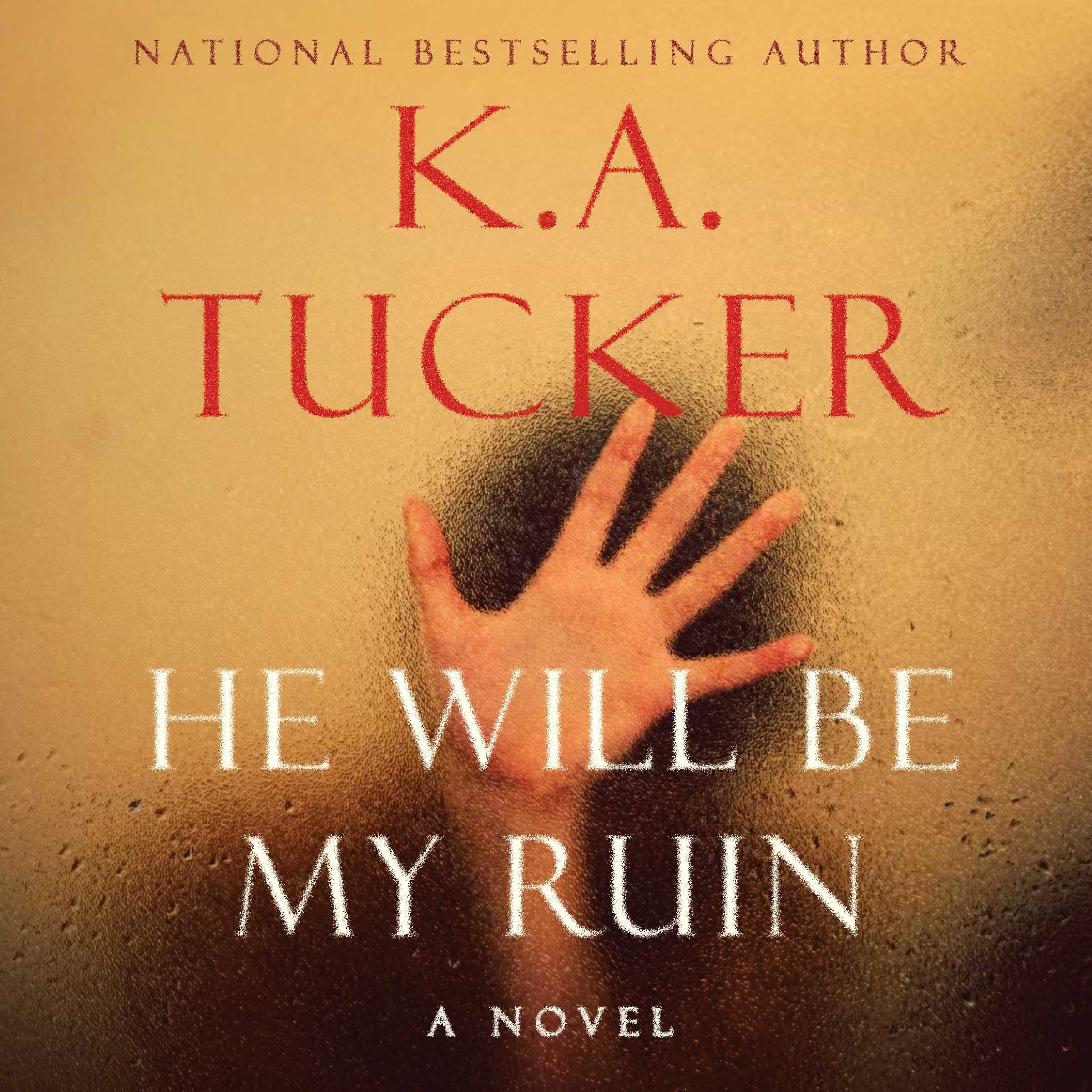 Printable He Will Be My Ruin Audiobook Cover Art