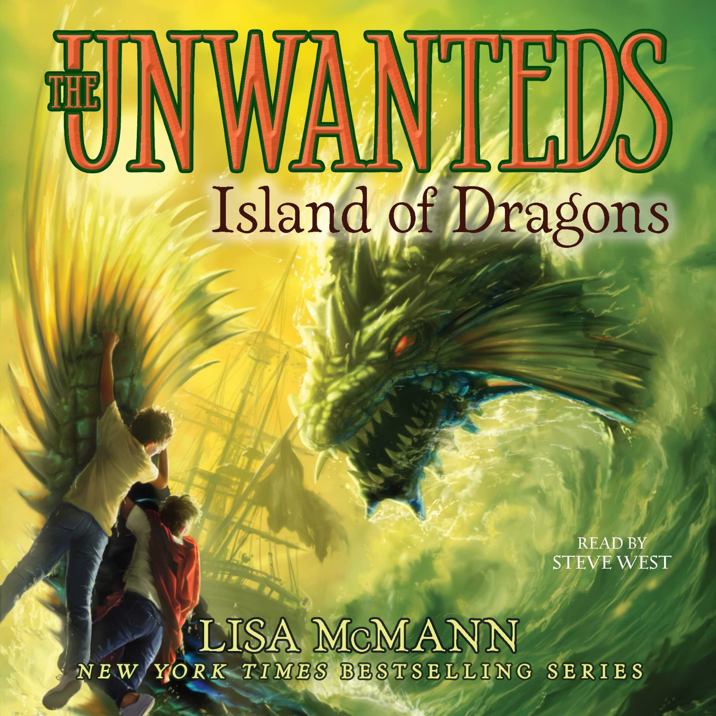 Printable Island of Dragons: Island of Dragons Audiobook Cover Art