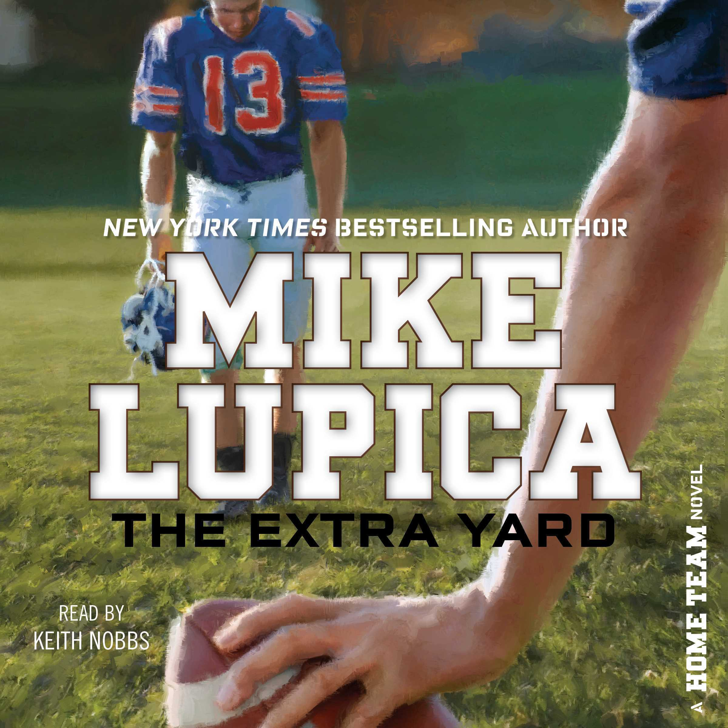 Printable The Extra Yard Audiobook Cover Art