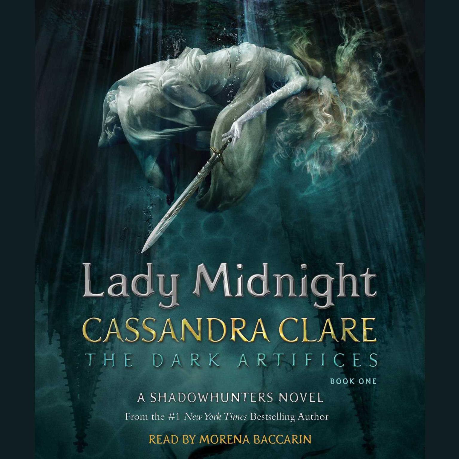 Printable Lady Midnight: A Shadowhunters Novel Audiobook Cover Art
