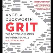 Grit Audiobook, by Angela Duckworth
