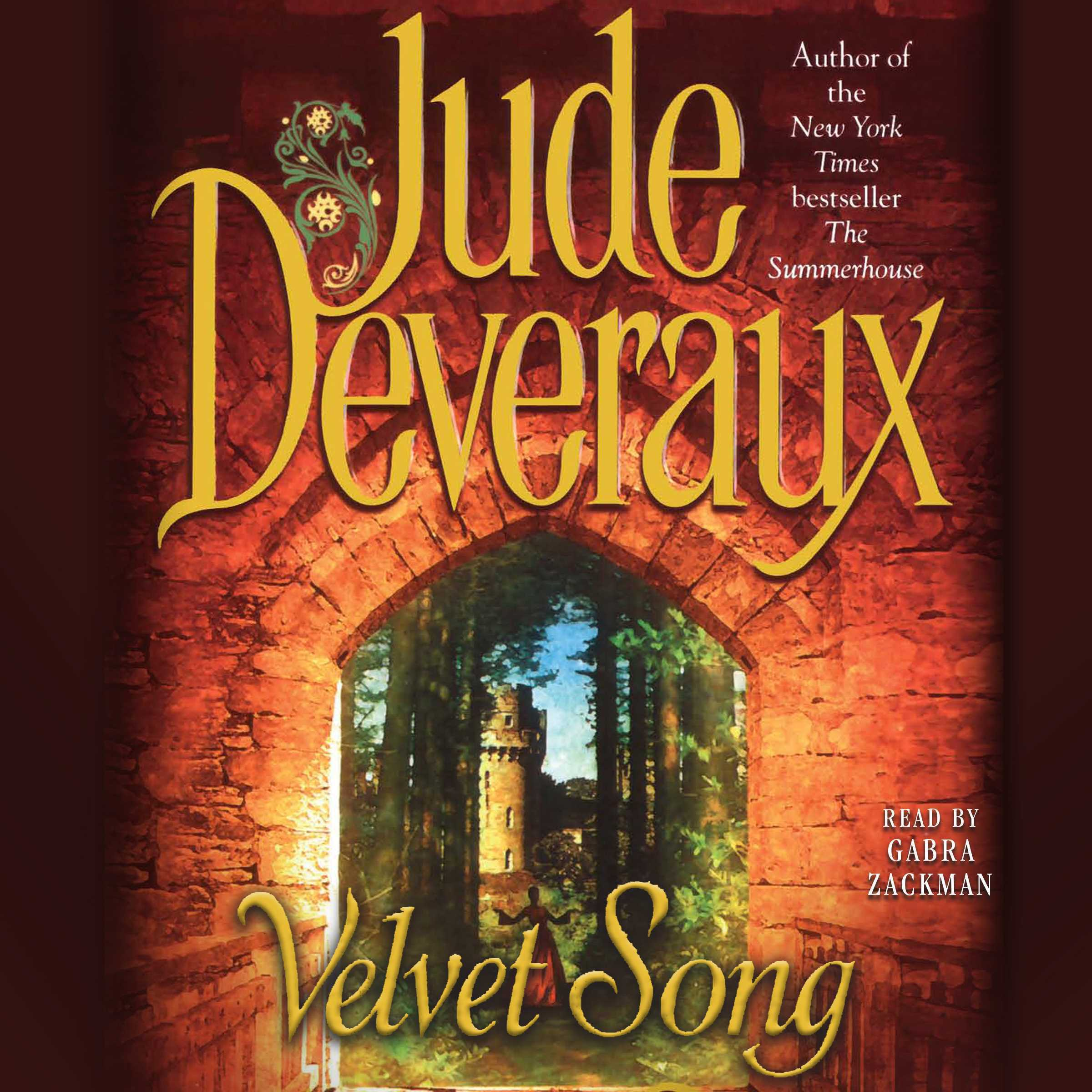 Printable Velvet Song Audiobook Cover Art