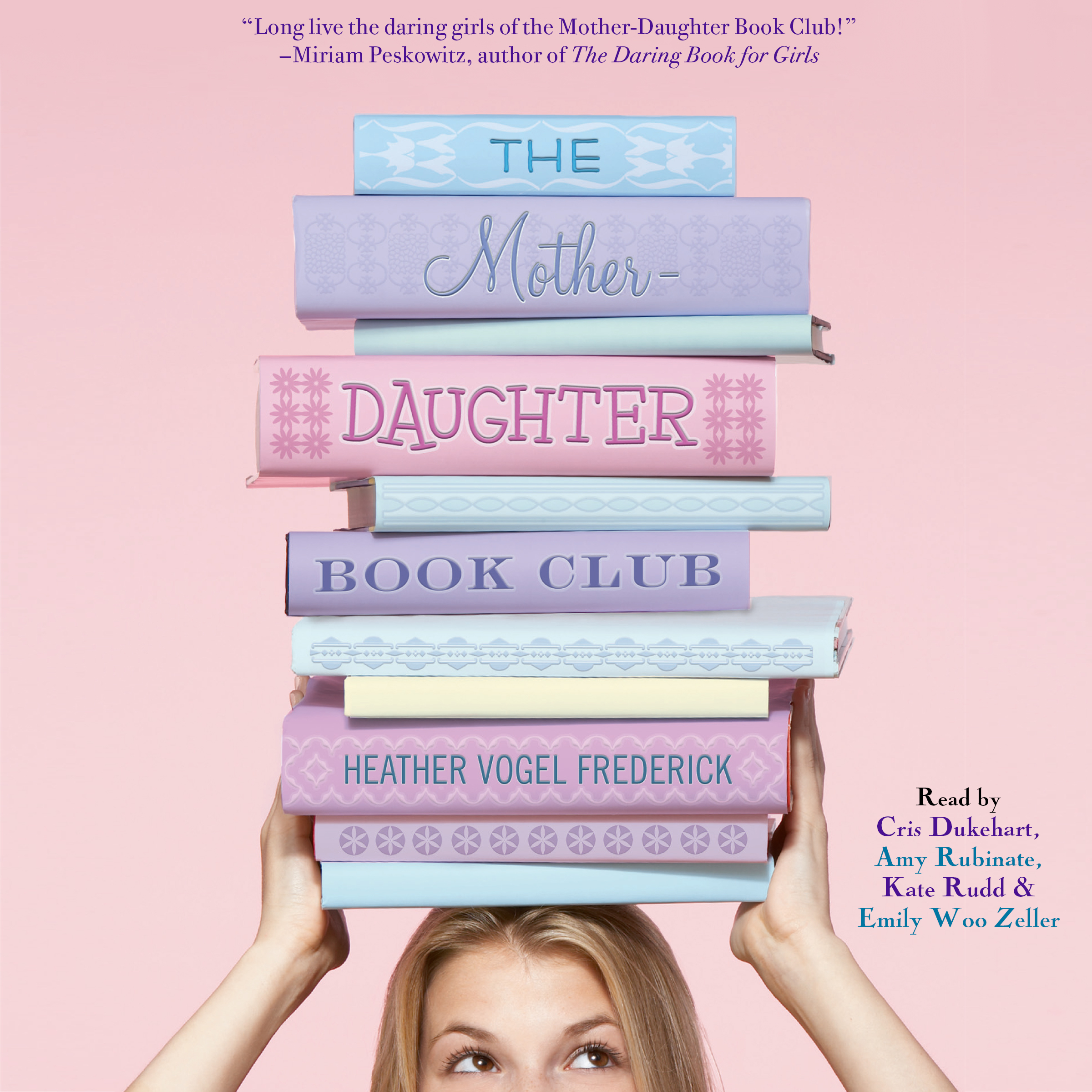 Printable The Mother-Daughter Book Club Audiobook Cover Art