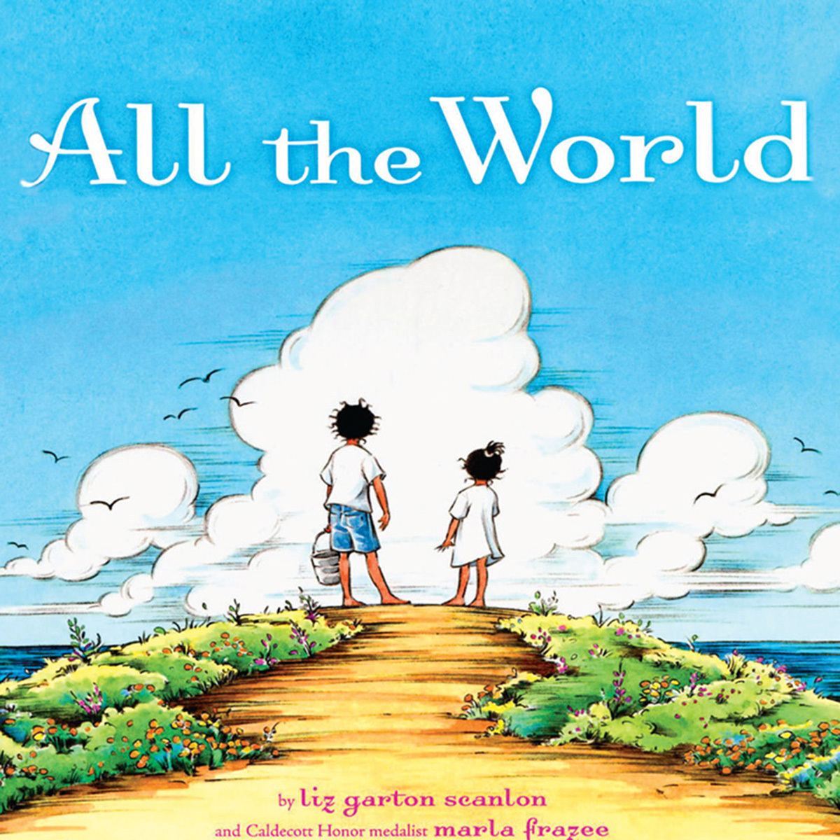 Printable All the World Audiobook Cover Art