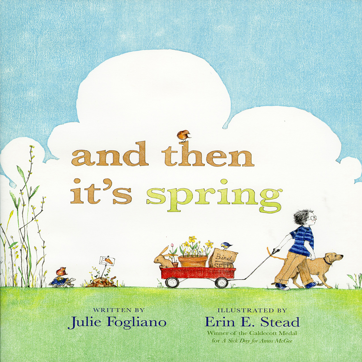 Printable And Then It's Spring Audiobook Cover Art