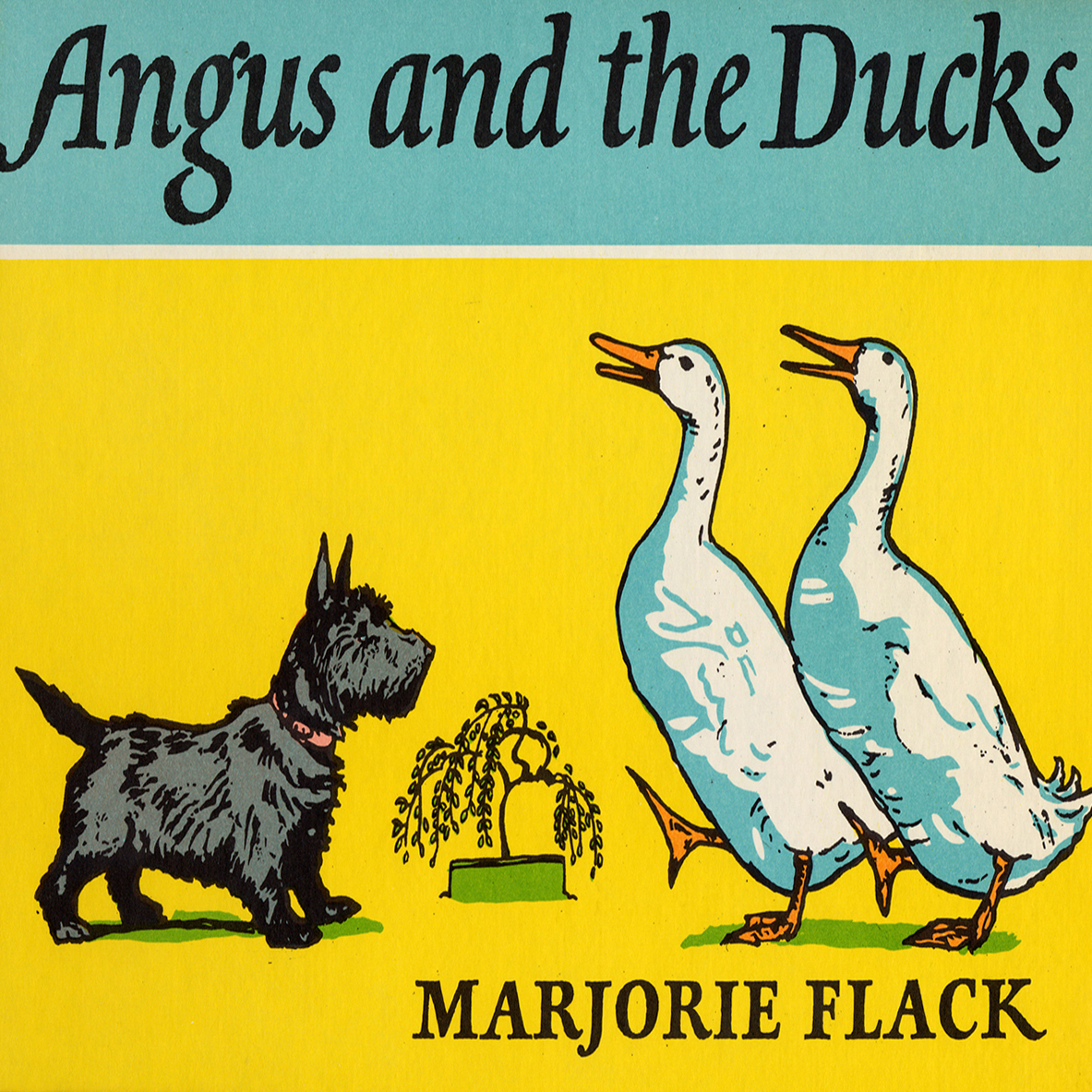 Printable Angus and the Ducks Audiobook Cover Art