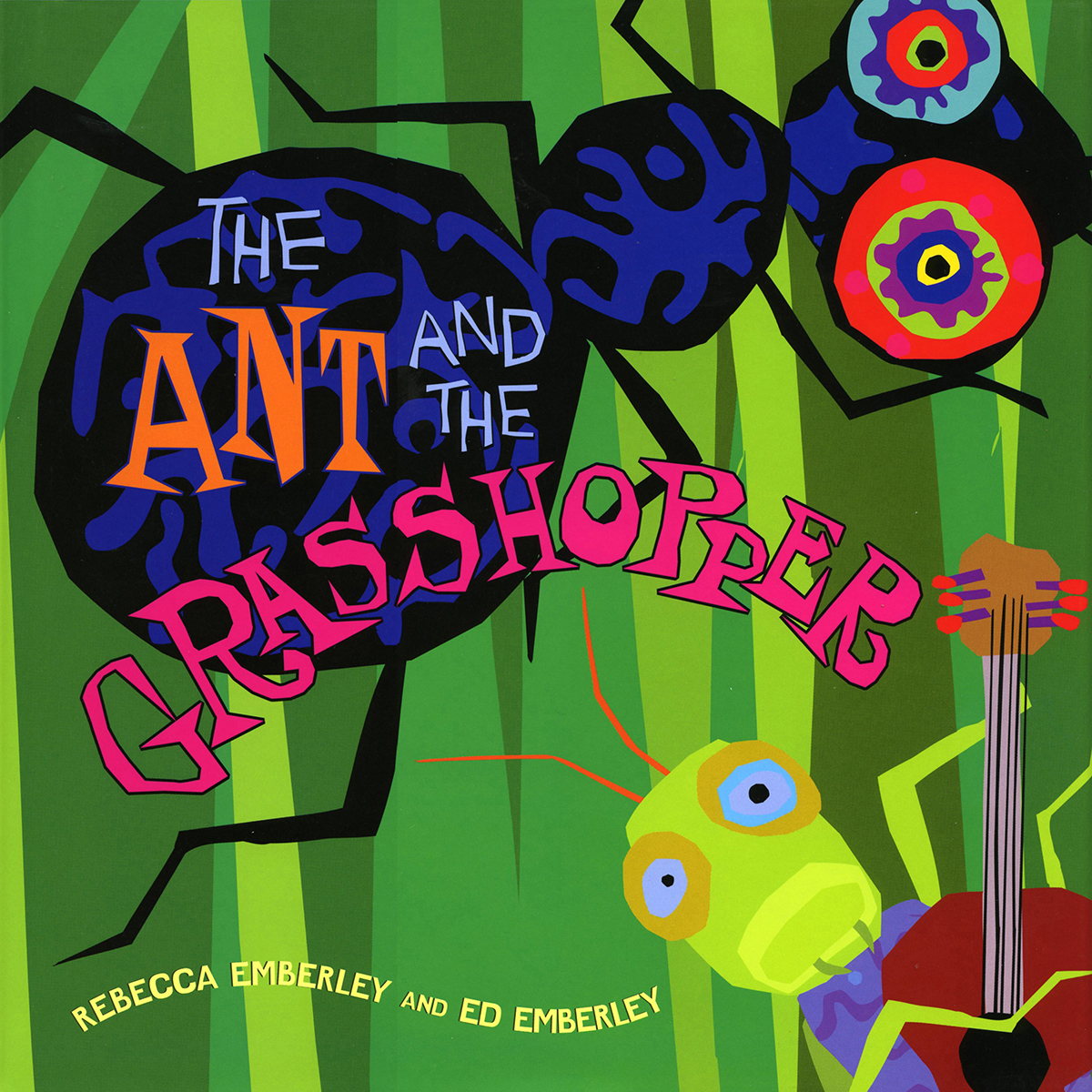 Printable The Ant and the Grasshopper Audiobook Cover Art