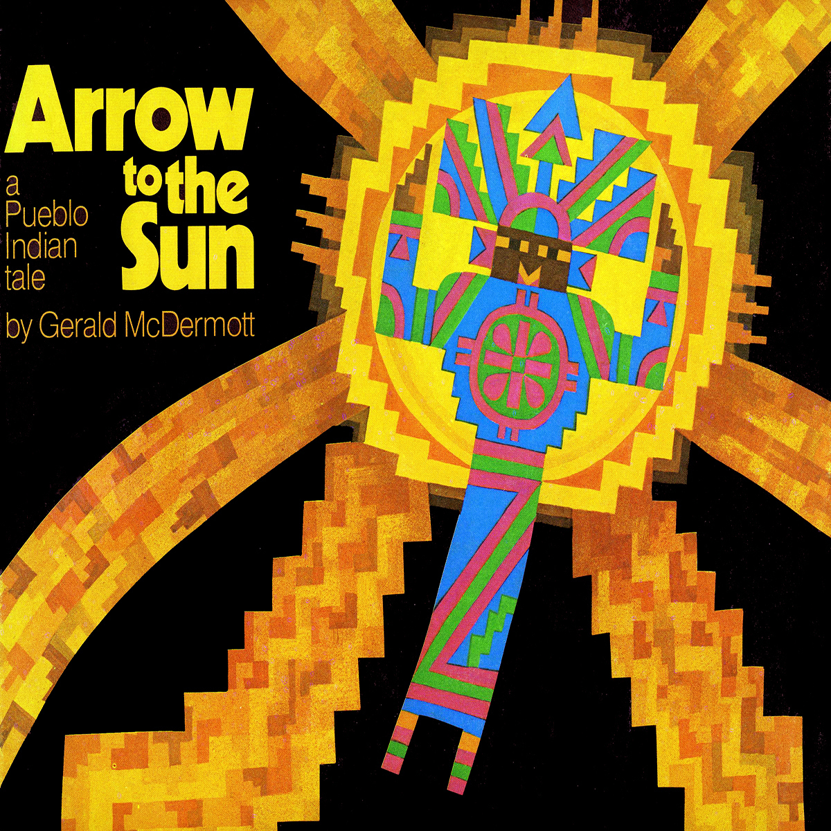 Printable Arrow to the Sun: A Pueblo Indian Tale Audiobook Cover Art