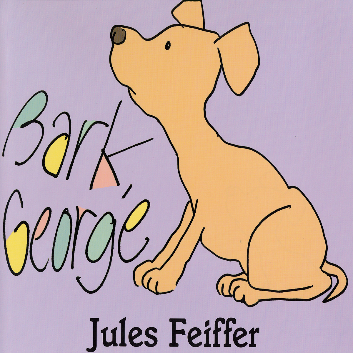 Printable Bark, George Audiobook Cover Art