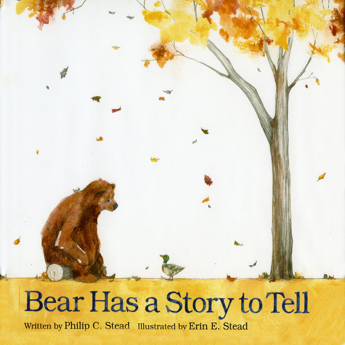 Printable Bear Has a Story to Tell Audiobook Cover Art