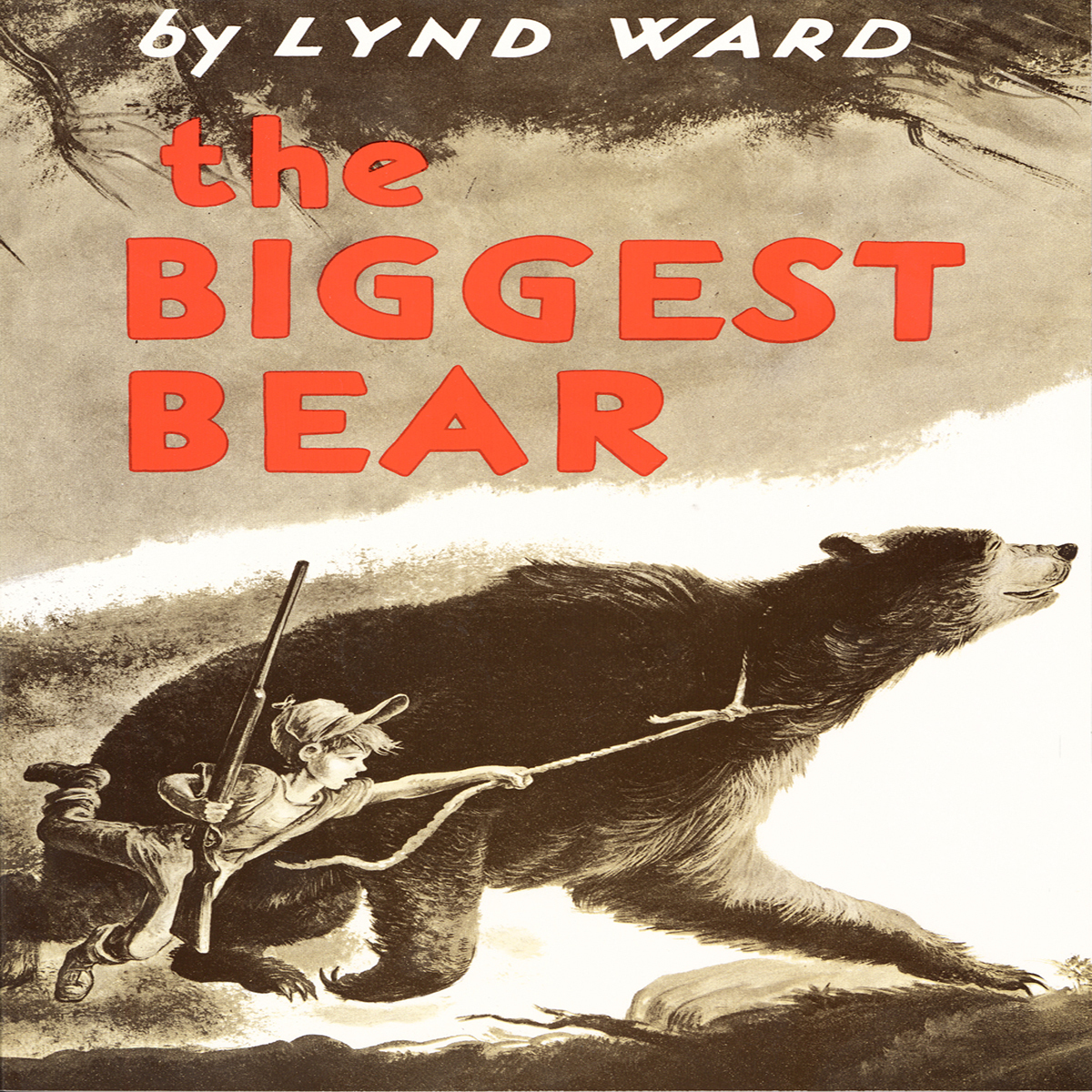 Printable The Biggest Bear Audiobook Cover Art