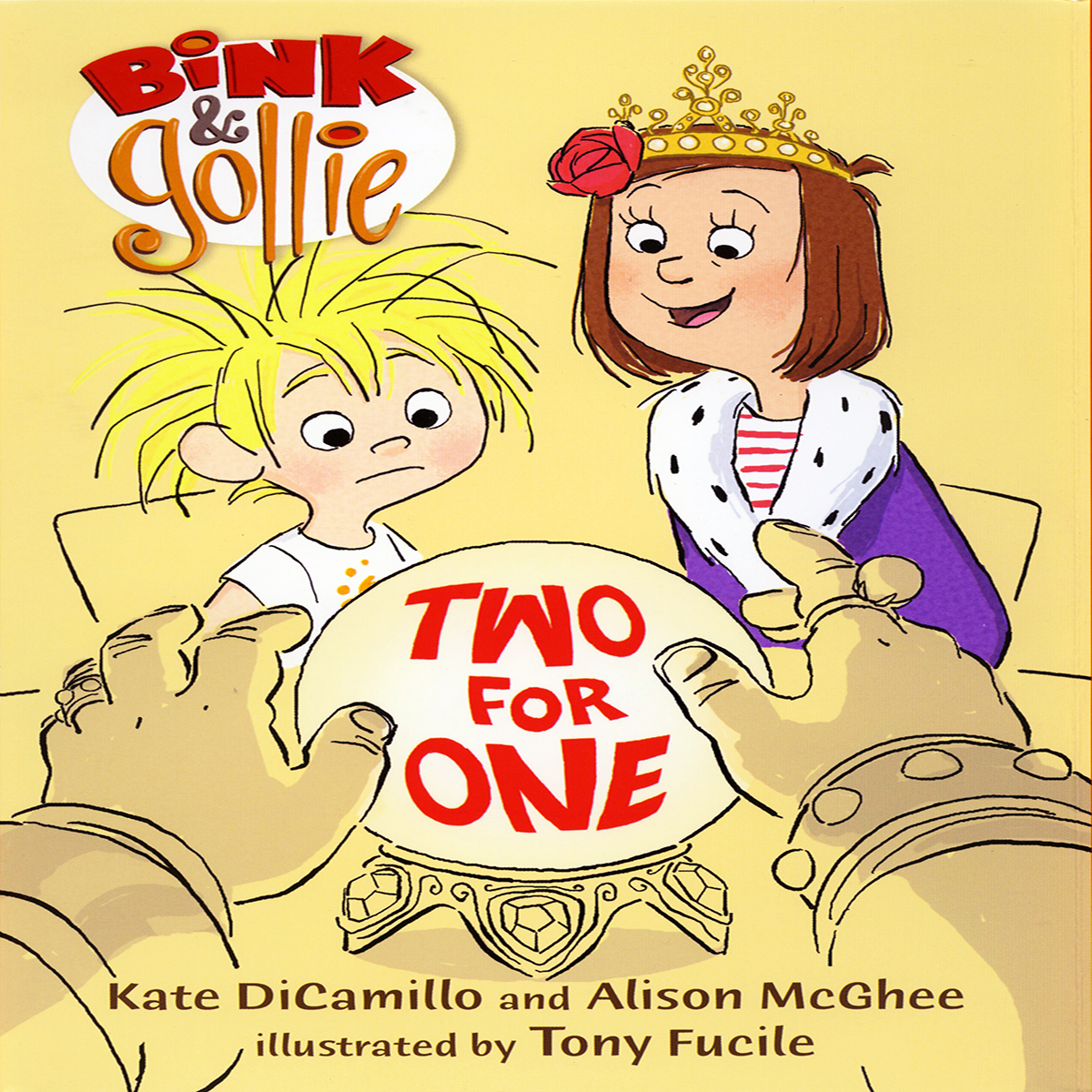 Printable Bink and Gollie: Two For One Audiobook Cover Art