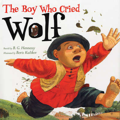 The Boy Who Cried Wolf Audiobook, by B.G. Hennessy