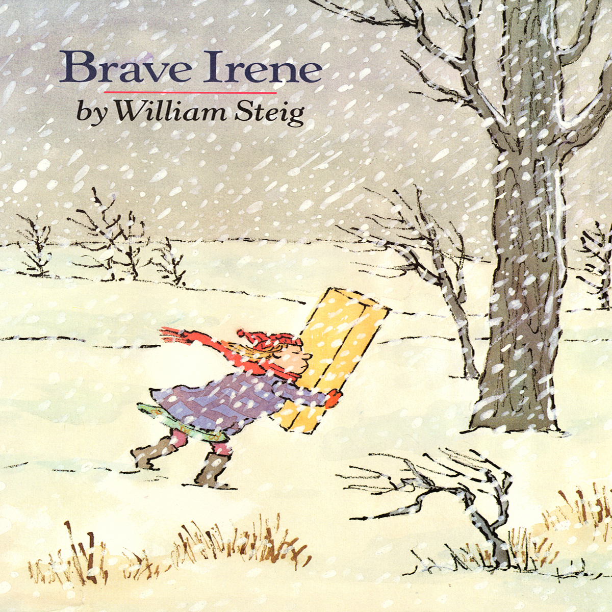 Printable Brave Irene Audiobook Cover Art