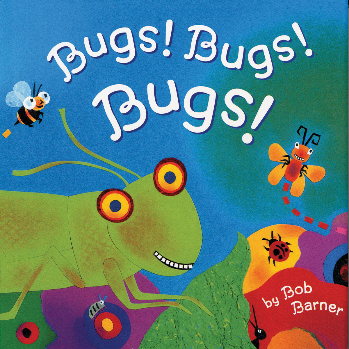 Printable Bugs! Bugs! Bugs! Audiobook Cover Art