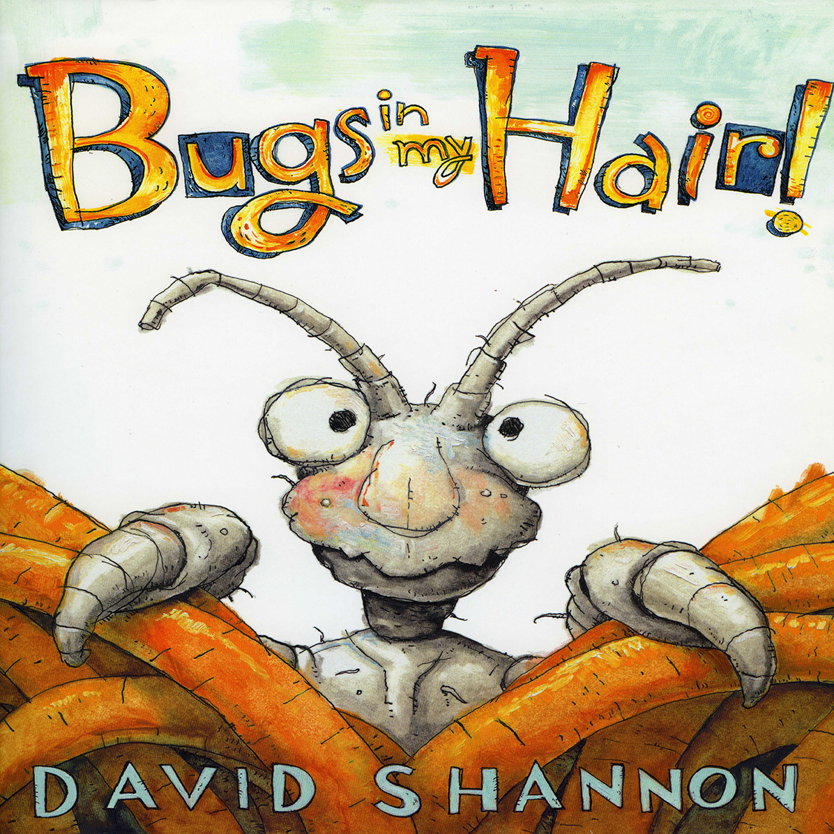 Printable Bugs in My Hair! Audiobook Cover Art