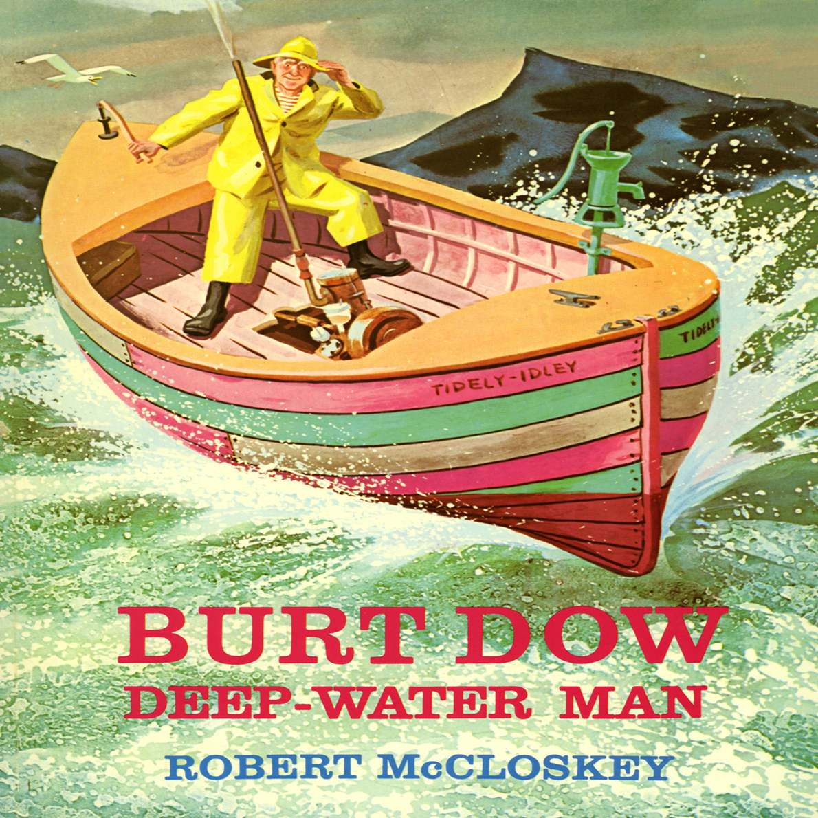 Printable Burt Dow: Deep Water Man Audiobook Cover Art