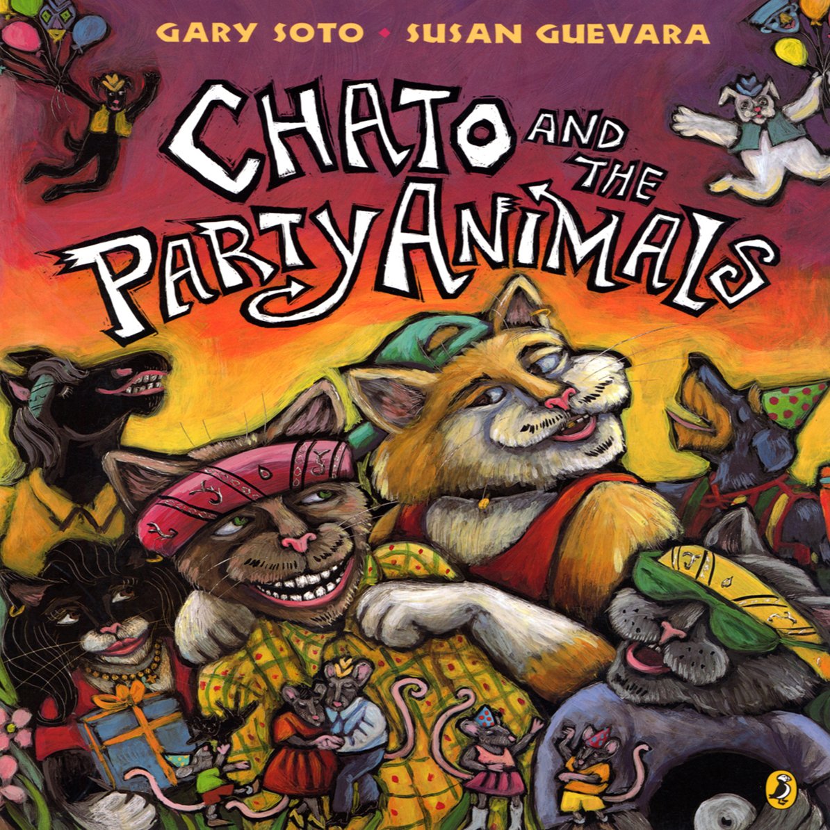 Printable Chato and the Party Animals Audiobook Cover Art