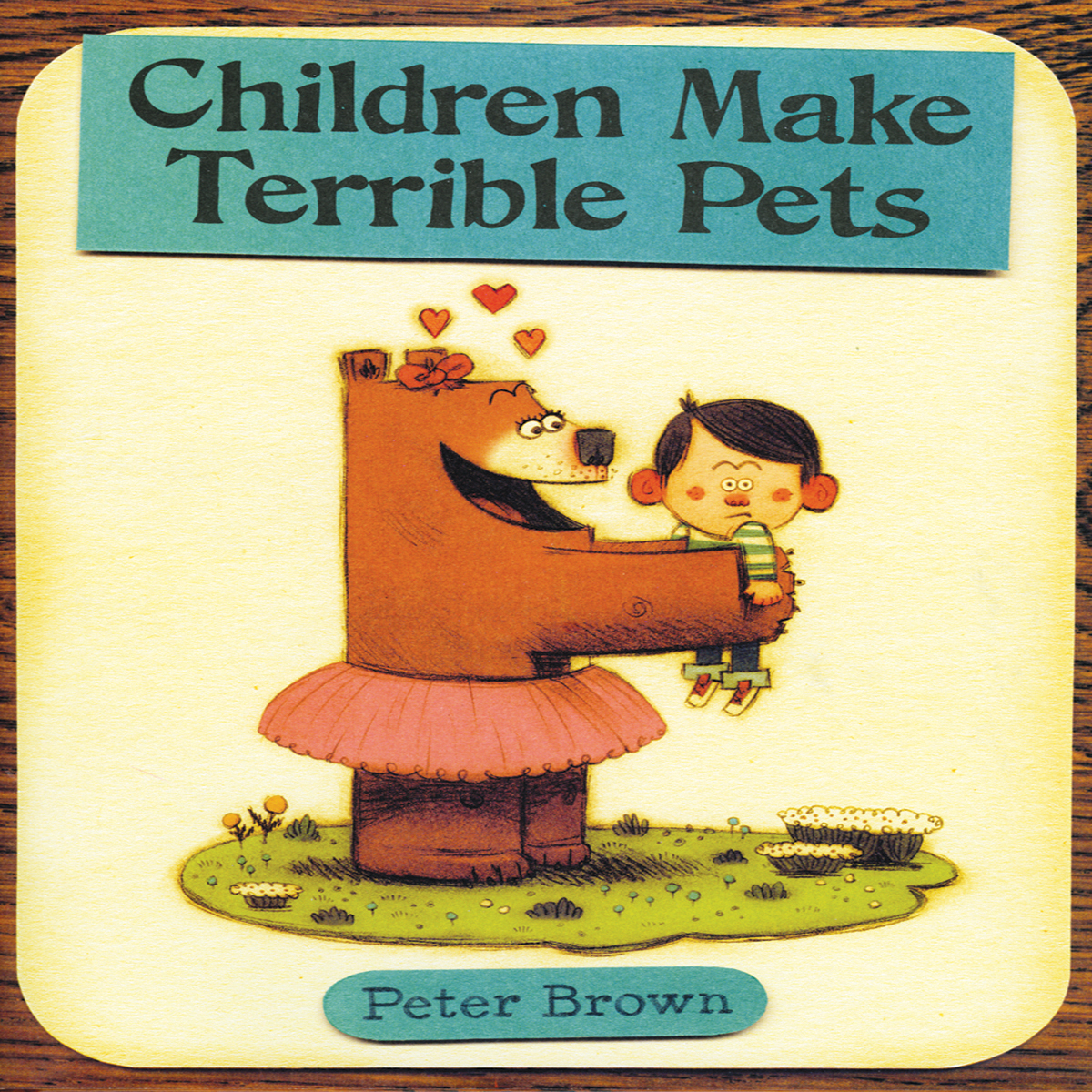 Printable Children Make Terrible Pets Audiobook Cover Art