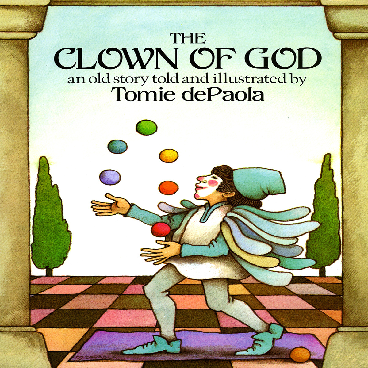 Printable The Clown of God Audiobook Cover Art