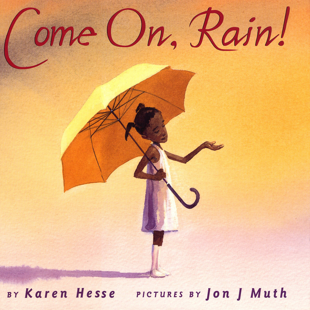 Printable Come On, Rain! Audiobook Cover Art