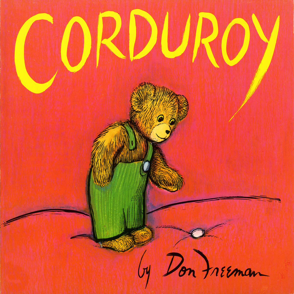Printable Corduroy Audiobook Cover Art