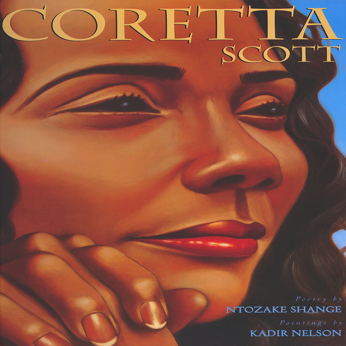 Printable Coretta Scott Audiobook Cover Art