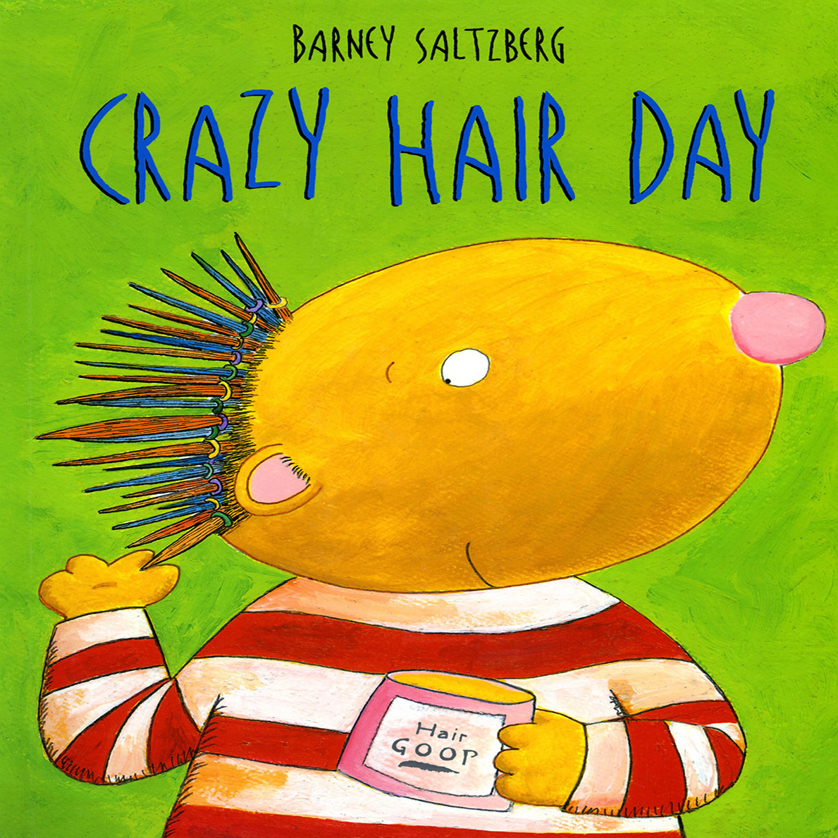 Printable Crazy Hair Day Audiobook Cover Art