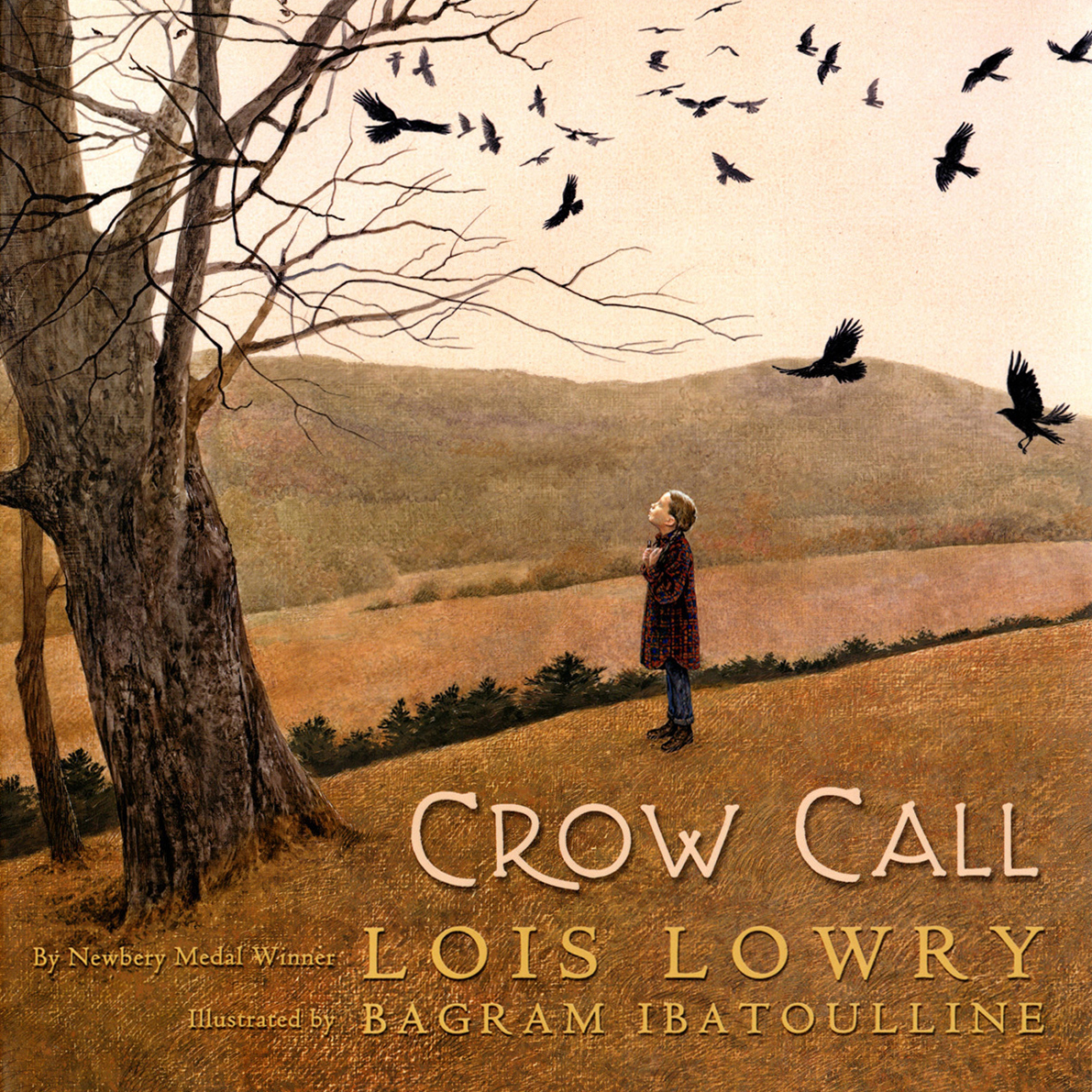 Printable Crow Call Audiobook Cover Art